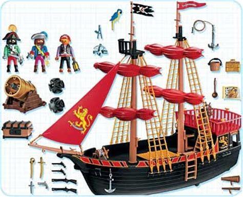 Barco Pirata Brinquedo by Piratas De Playmobil 4424 Barco Pirata