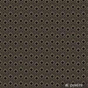 Papier Peint Noir Et Doré : papier peint motifs mod le sans couture dans le style art d co carrelage noir et dor ~ Melissatoandfro.com Idées de Décoration
