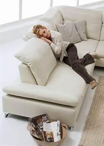 Canapé 4 Places Cuir : petit canap d angle 4 places en cuir gentflex assises r glables ~ Teatrodelosmanantiales.com Idées de Décoration