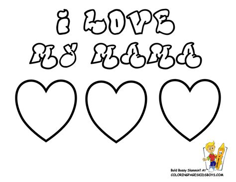Coloring Clip Art For Mom Coloring Pages
