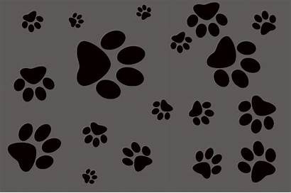 Dog Background Footprint Pattern Cat Paws Icon