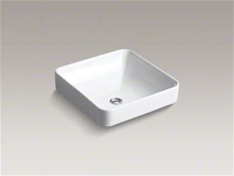 kohler vox vessel sink kohler vox square vessel sink bathroom sinks by kohler