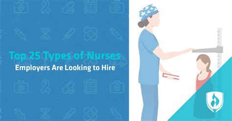 Top 25 Types Of Nurses Employers Are Looking To Hire