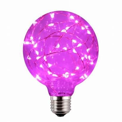 Bulb Pink Led Decorative Rgb G30 Changing