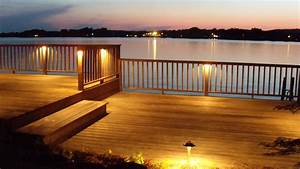 Deck lighting at logan martin lake al outdoor
