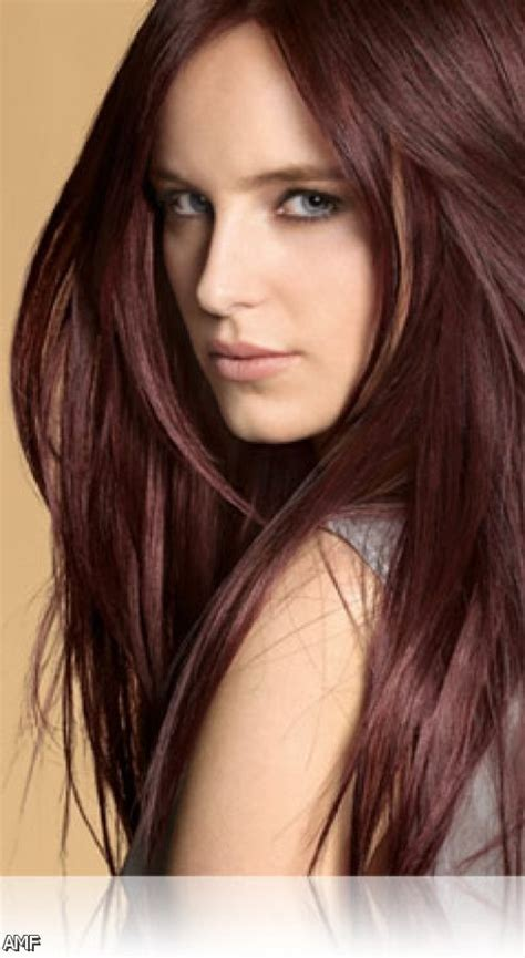 brown red hair color shades fashion trends