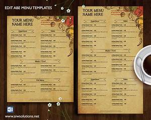 17 best ideas about french restaurant menu on pinterest With greek menu template