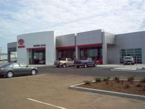 Toyota Jackson Ms by Herrin Gear Toyota Jackson Ms 39211 2642 Car Dealership