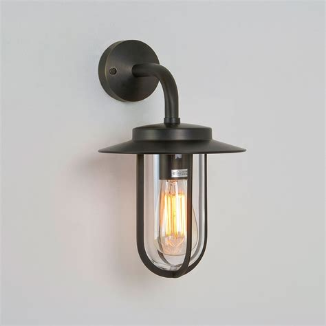astro montparnasse wall bronze outdoor wall light at uk