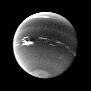 Space Images   Neptune Clouds on the Dark Spot