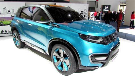 Suzuki Grand Vitara 4k Wallpapers by New Car Suzuki 2015 Vitara Blue Color Hd Wallpapers Hd