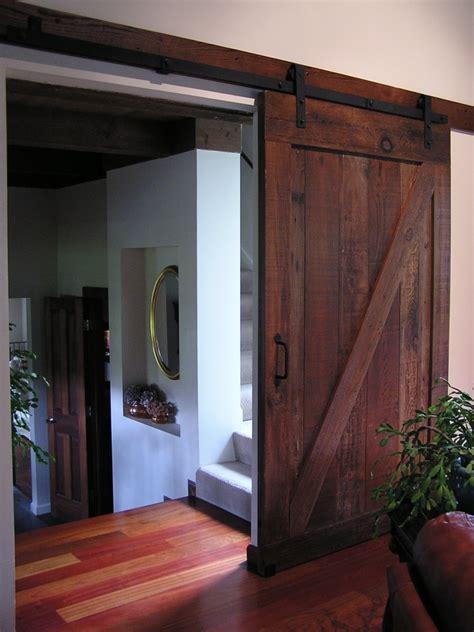 growth redwood barn door heritage salvage