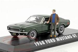 Ford Mustang Bullitt 1968 : ck modelcars 86433 ford mustang gt year 1968 movie bullitt 1968 green metallic with figure ~ Melissatoandfro.com Idées de Décoration