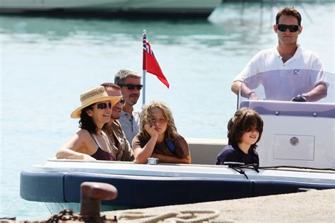 What Is To Take A Boat Ride In Spanish by John Abraham And Ali Hewson Photos Photos Bono And His