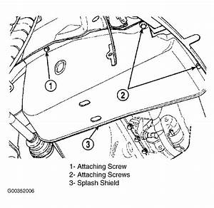 2004 Chrysler Pacifica 3 5 Serpentine Belt Diagram