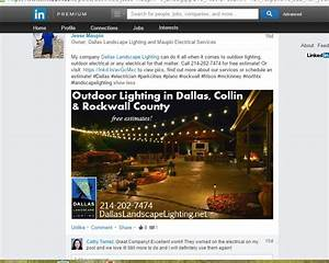Testimonials reviews dallas landscape lighting