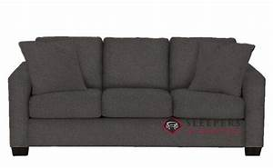 customize and personalize 702 queen fabric sofa by stanton With the stanton 702 chaise sectional sleeper sofa queen