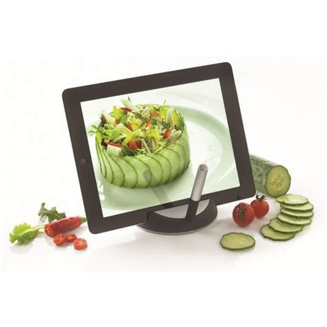 support tablette tactile cuisine support tablette chef avec stylet tactile