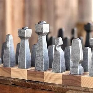 Steel, Chess, Set, Chess, Set, Unique, Chess, Pieces, Modern, Chess, U00bb, Petagadget