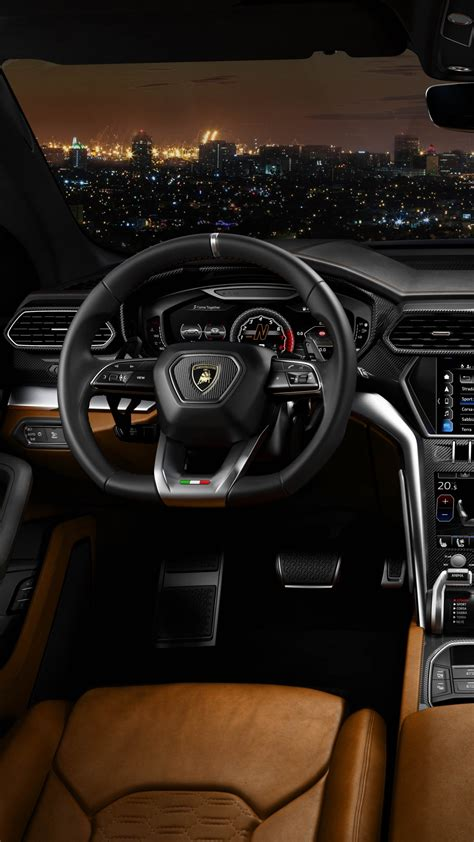 wallpaper lamborghini urus  cars interior