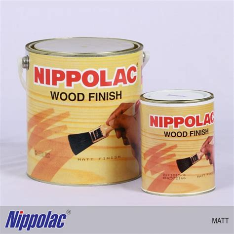 nippolac nc wood finish matt bnshardwarelk nippolac
