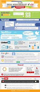 Business Startup Checklist Social Media Checklist For Facebook Twitter Linkedin And