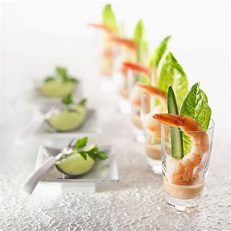 prawn cocktail canapes impressive prawn cocktail creative appetizers