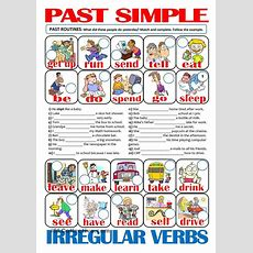 13 Best Past Simple Gor Images On Pinterest  English Grammar, English Classroom And Learning