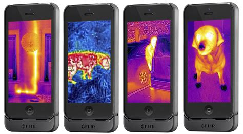 iphone case adds thermal imaging   phone