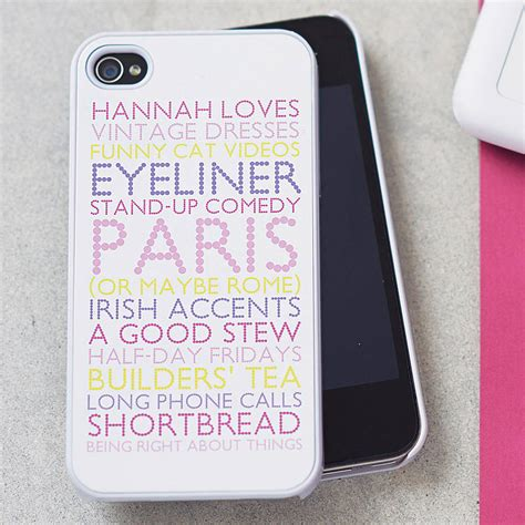 personalised iphone cover with emoticons by pickle pie pretty iphone cases for www imgkid the image