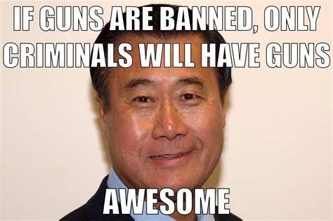 Another Democrat Gun Grabber