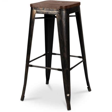 canape convertible simili cuir tabouret de bar bronze assise bois coin du design