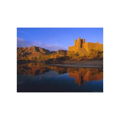 Ait Hamou Ou Said Kasbah Draa Valley Morocco North Africa Photographic Print by Bruno Morandi