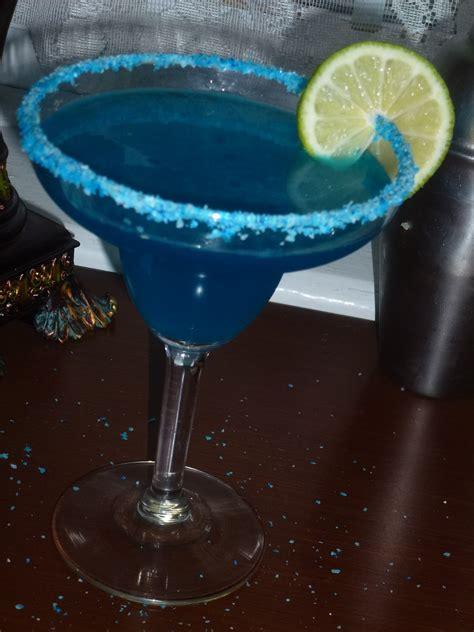blue margarita meals heels and cocktails big blue margarita