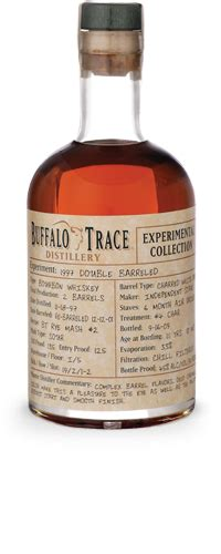 Experimental Collection  Buffalo Trace Distillery