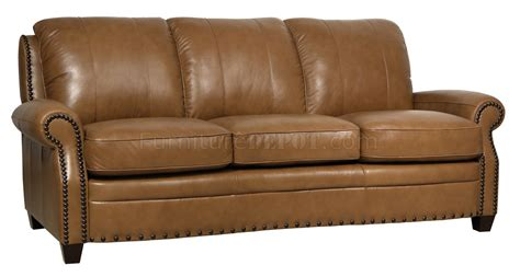 italian loveseat bennet sofa loveseat set in wheat italian leather