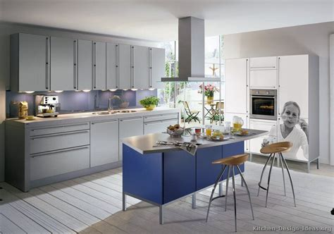 kitchen renovations using gray and white kitchen of the day a cool gray kitchen with a blue