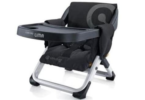 rehausseur de chaise de voyage top 5 des chaises et réhausseurs pour bébés en vadrouille