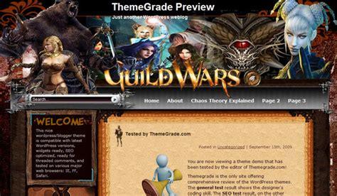 guild wars wordpress theme review