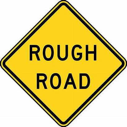 Road Clipart Sign Traffic Rough Signs Clipground