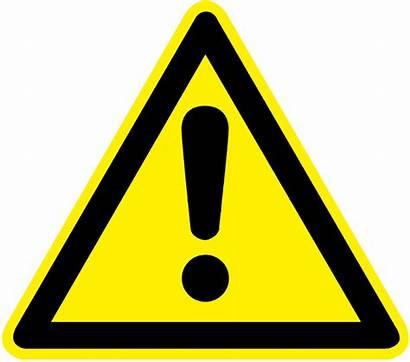 Hazard Printable Signs Warning Clipart Symbols Symbol