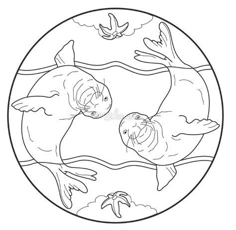 mandala degli animali del mare libro