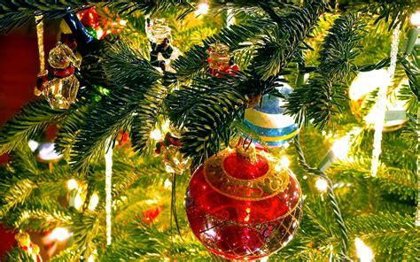Happy Christmas  Christmas Ornaments Light Blur 4k Uhd