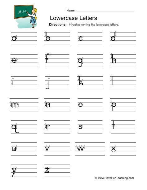 writing  letter worksheet collection