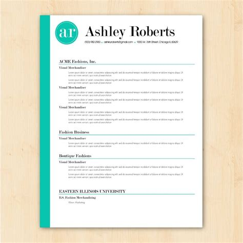 microsoft word resume template gallery template