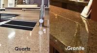 quartz vs granite countertops Granite vs. Quartz: Which is Best for Your Kitchen ...