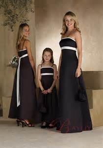 black dresses for bridesmaids black and white bridesmaid dresses with a line ipunya