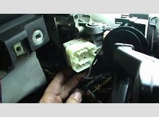 BMW E38 Ignition Switch Replacement YouTube
