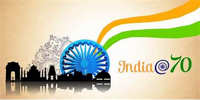 Independence India Happy 70th Flag Hoisting August