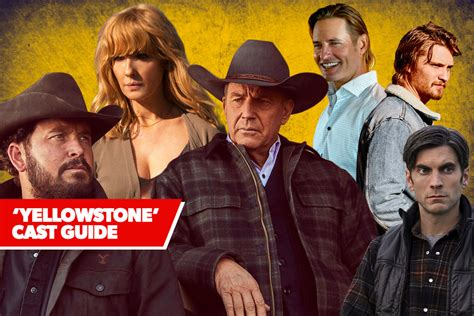 yellowstone cast guide whos   paramount networks